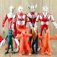 咸蛋超人迪迦赛罗泰罗 银河奥特曼打怪兽人偶模型 儿童玩具