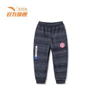 安踏童装男小童针织长裤儿童运动休闲裤子35849717