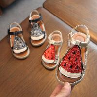 女童凉鞋夏季儿童凉鞋 凉鞋女童公主鞋