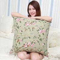 大号沙发抱枕靠垫全棉超大客厅枕头床头大靠背70套60正方形65靠枕