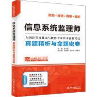 信息系统监理师真题精析与命题密卷 中国水利水电出版社