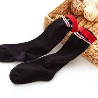 【89元5件】巴布豆女童时尚条纹中筒袜