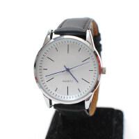 男表 简约男士时尚手表 学生表 皮带 大表盘 石英表