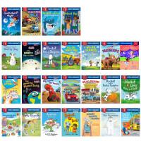 【全店300减100】【套装B】美国兰登经典分级读物阅读第一阶段19册 Step into Reading Step1