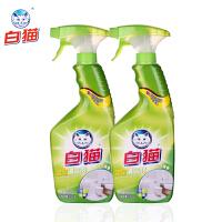 白猫 浴室清洁剂 520g*2瓶 去污 除垢浴室淋浴房清洁剂浴缸瓷砖