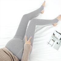 弹力孕妇连裤袜踩脚一体裤高腰托腹裤孕妇打底裤SM-6503