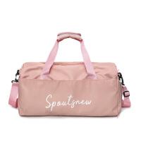 短途旅行包女手提行李包男干湿分离行李袋大容量运动健身包 大