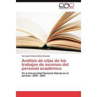 【预订】Analisis de Citas de Los Trabajos de Ascenso del Person