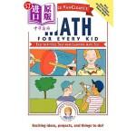 【中商海外直订】Janice Vancleave's Math for Every Kid: Easy Activit