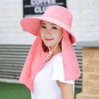帽子女士夏款遮阳帽防晒春遮脸凉帽骑电动摩托车夏季太阳帽