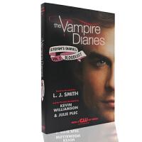 现货 The Vampire Diaries 吸血鬼日记英文版书 斯特凡的日记2 小说版