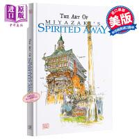 【中商原版】宫崎骏电影设定集:千与千寻 英文原版 The Art of Spirited Away Hayao Miy