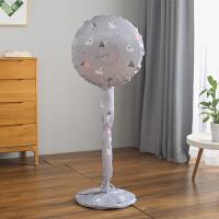 电风扇罩防尘罩套落地式家用布艺圆形全包风扇落地扇收纳保护罩子