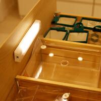 节能人体感应灯 电池小夜灯 床头灯壁灯厨房衣柜灯