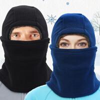 骑车防风帽子口罩男摩托车骑行护脸头套冬季装备户外保暖防寒面罩