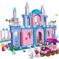 【小颗粒】邦宝益智拼插积木儿童玩具女孩生日礼物公主出
