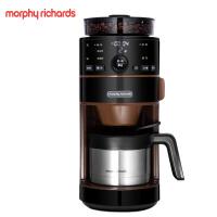 摩飞MR1103美式研磨一体机全自动家商用煮咖啡壶现磨咖啡豆咖啡机