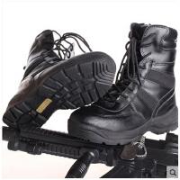 男士高帮鞋 军迷服装靴子 部队男士战术军靴 户外沙漠靴