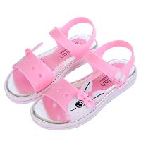 儿童凉鞋夏卡通舒适女童凉鞋大童宝宝沙滩鞋学生凉鞋