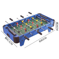 桌上足球�C5桌面6足球桌游�蚺_9�p人7益智桌游�和�玩具男孩4-10�q