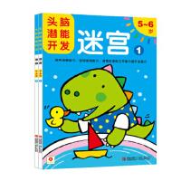 小红花・头脑潜能开发:迷宫5-6岁(套装共2册) [5-6岁]
