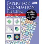【预订】Papers for Foundation Piecing: Quilter-Tested Blank Pap