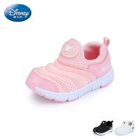 【99元任选2双】迪士尼Disney童鞋19新款儿童毛毛虫运动鞋男童女童透气休闲鞋(5-10岁可选)S73789