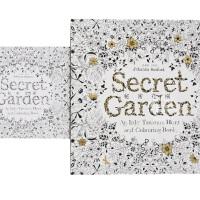 现货 港台原版 秘密花园 送小开本随身版 Secret Garden 涂鸦减压 繁体中文