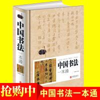 中国书法一本通 不止167个练习行书字帖毛笔书法速成教程暑假写字天天练从入门到精通掌握书写精髓传统文化知识要领 畅销抖音