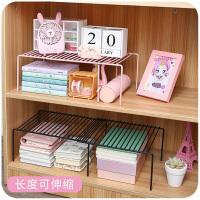 少女宿舍书桌上置物架住校空间大师桌面可伸缩收纳整理架层架