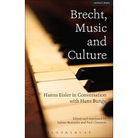 【预订】Brecht, Music and Culture: Hanns Eisler in Conversation
