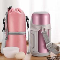 保温瓶宝宝婴儿外出冲奶粉便携保温杯家用大容量1000ml户外水壶女