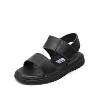夏季童鞋男童凉鞋软底女童沙滩鞋韩版中大童鞋子