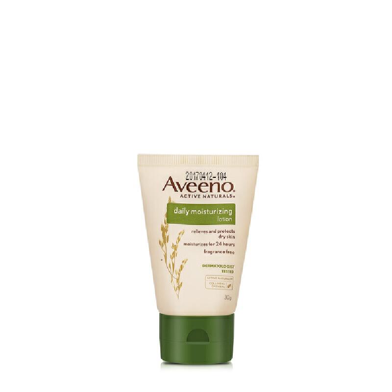 Aveeno燕麦成人每日倍护保湿润肤乳30g
