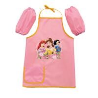 儿童防水罩衣防脏画画衣中大童围裙宝宝围兜反穿衣