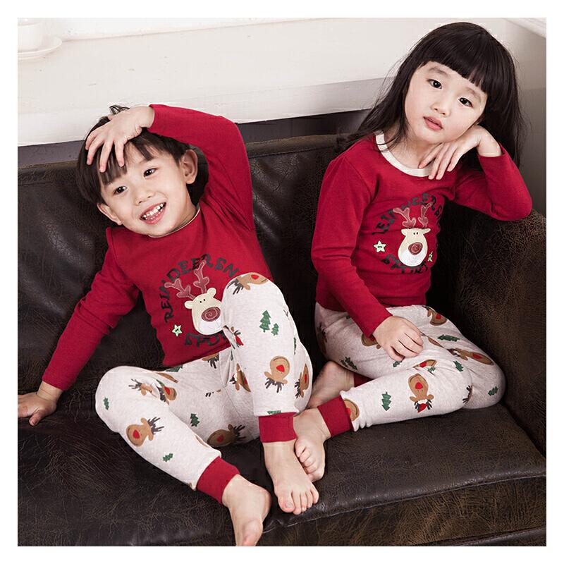 儿童内衣套装冬男童女童秋衣秋裤中小童儿童睡衣长袖