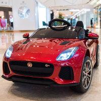 儿童电动车四轮带遥控汽车可坐小孩童车宝宝玩具车可坐人 【烤漆红】全功能 +四驱动力