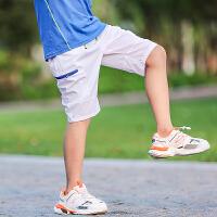 童装男童运动短裤外穿儿童速干裤子夏季中大童男孩2019夏装童裤