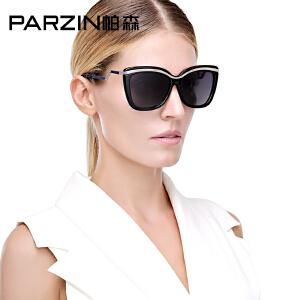 帕森时尚大框偏光太阳镜 女士潮墨镜 司机开车驾驶镜新品9532