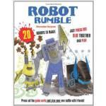 现货 Robot Rumble: 20 Robots to Make! Just Press Out Glue Tog