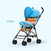 婴儿推车轻便婴儿车夏便携式宝宝推车婴儿伞车轻便折叠避震