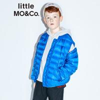 【折后价:320】littlemoco秋冬新款儿童羽绒服保暖白鸭绒可拆袖男女童短羽绒外套