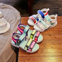 男童凉鞋软底儿童夏季中大童女孩沙滩鞋