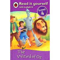 Ladybird:The Wizard of OZ(Read It Yourself-Level 4) 小瓢虫分级读物:《奥兹王国历险记》(阅读级别:4)ISBN 9781409303770