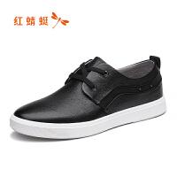 红蜻蜓男鞋休闲皮鞋秋冬休闲鞋子男WTA8098