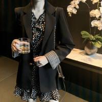 名媛小香风西装套装女韩版春秋2020新款外套连衣裙泫雅两件套裙子