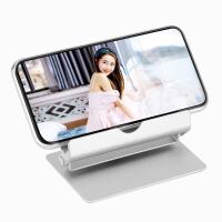 手机支撑架子床头支夹ipadpro铝合金支架平板电脑苹果mini4air2懒人支架桌面多功能通用支座散热旋转折叠