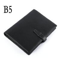 包邮 真皮活页夹 笔记本 A5 B5 商务记事本 可定制 办公文具本子 日记本 黑色 棕色