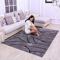 地毯客厅沙发茶几垫简约现代风格地垫卧室飘窗床边毯满铺定制 灰色 新品灰色