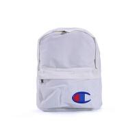 双肩包男女学生书包旅行背包纯色帆布背包